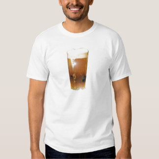 Glass of Beer with Foam T-shirts