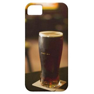 Glass of Irish ale in pub iPhone 5 Cover