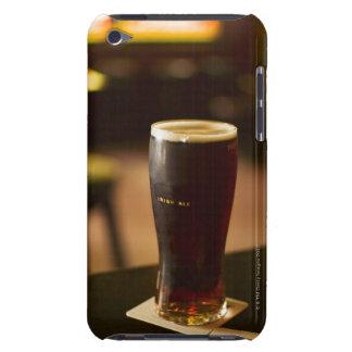 Glass of Irish ale in pub iPod Case-Mate Case