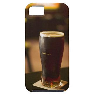 Glass of Irish ale in pub Tough iPhone 5 Case