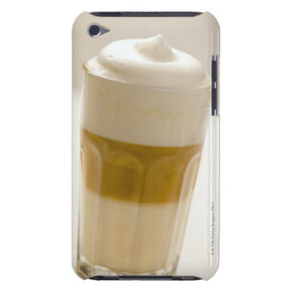 Glass of latte macchiato, close up iPod touch cases