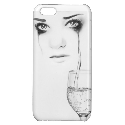 Glass of my soul - by Rajacenna Case For iPhone 5C