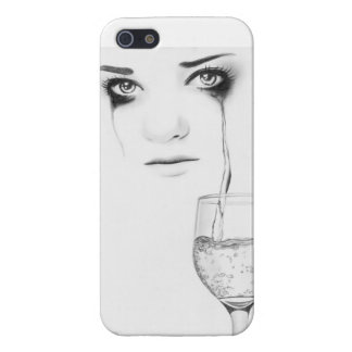 Glass of my soul - by Rajacenna Case For iPhone 5/5S