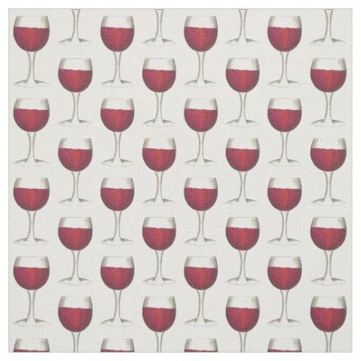 Glass of Red Wine Tasting Drinking Winery Merlot Fabric