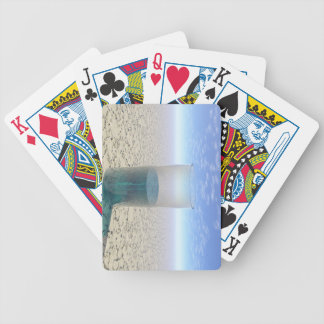Glass of Water Bicycle Playing Cards