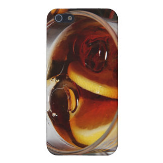 Glass of whiskey cocktail iPhone 5/5S cases