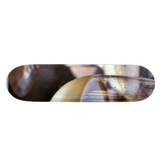 Glass Of White Wine Skate Board