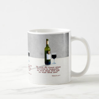 Glass of Wine Coffee Mug
