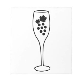 Glass of Wine Notepad