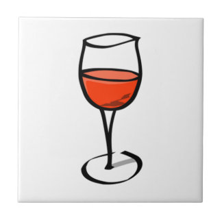 Glass of Wine Tile
