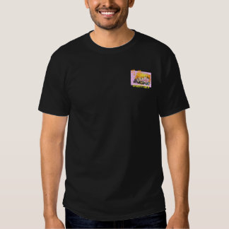 Glass Peony T-shirt with Japanese KANJI ~ 芍