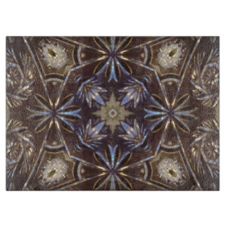 glass plate abstract pattern cutting board