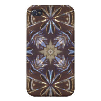 glass plate abstract pattern iPhone 4/4S case