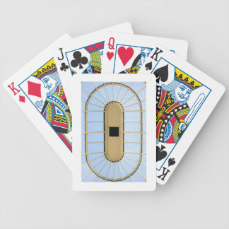 Glass roof design bicycle playing cards