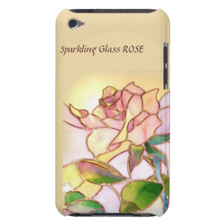 Glass Rose Brown Custom iPod Touch case