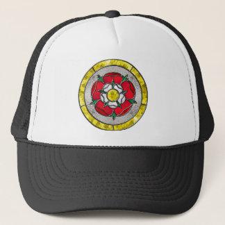 Glass Rose Trucker Hat