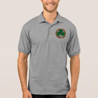 Glass Shamrock Polo Shirt