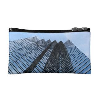 Glass Skyscraper Cosmetics Bags