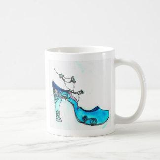 Glass Slipper Basic White Mug