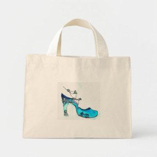 Glass Slipper Mini Tote Bag