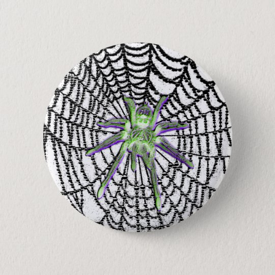 Glass Spider Gothic button
