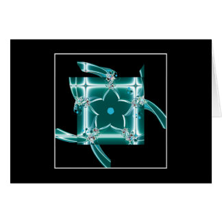glass star greeting cards