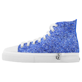 Glass stones High-Top Sneakers ☆★☆