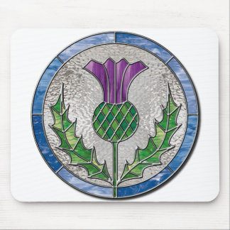 Glass Thistle Mouse Mat