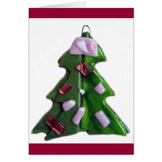 Glass Tree 2 Greeting Card