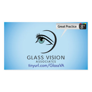 Glass Vision Associates Business Card Template