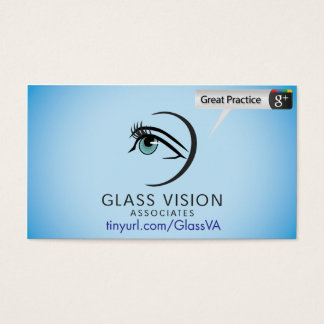 Glass Vision Associates Business Card