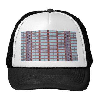 Glass windows from modern architecture elegant fun hat