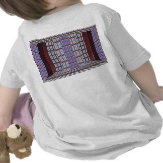 Glass windows from modern architecture elegant fun tee shirts