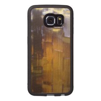 glass windows wood phone case