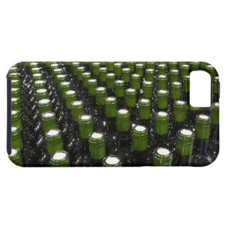 Glass wine bottles in a wine bottling factory. iPhone 5 cover