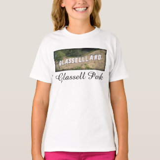 Glassellland Sign in Glassell Park, California T-Shirt