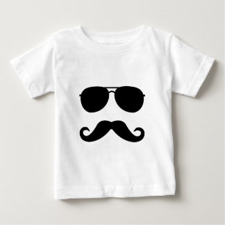 Glasses and Mustache Baby T-Shirt