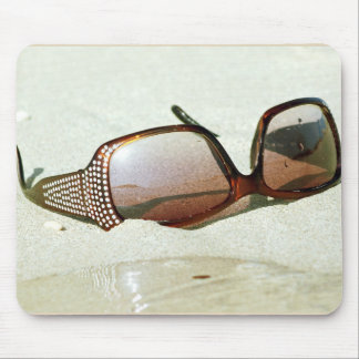 glasses. marine collection mouse mat
