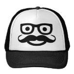 glasses moustache smiley hats