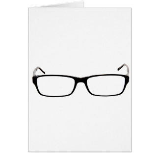 Glasses - Nerd Card