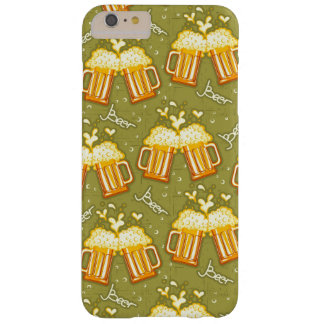 Glasses Of Beer Pattern Barely There iPhone 6 Plus Case