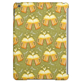 Glasses Of Beer Pattern iPad Air Cover