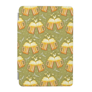 Glasses Of Beer Pattern iPad Mini Cover