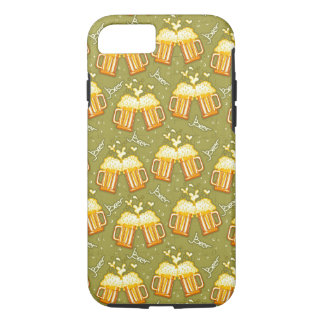 Glasses Of Beer Pattern iPhone 8/7 Case