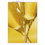 Glasses of Champagne Card