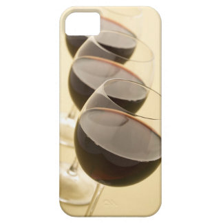 Glasses of red wine case for the iPhone 5