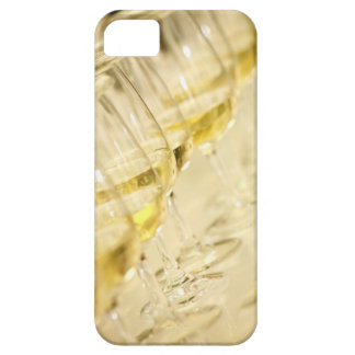 Glasses of white wine for wine tasting, close up barely there iPhone 5 case