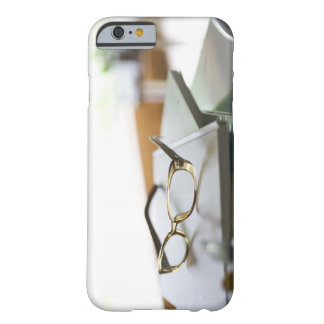 Glasses on the book barely there iPhone 6 case