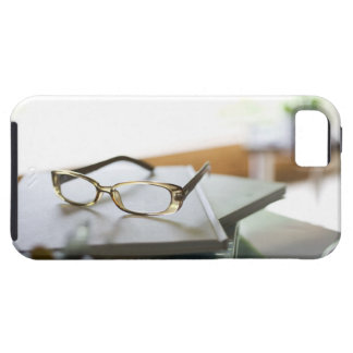Glasses on the book tough iPhone 5 case