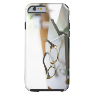 Glasses on the book tough iPhone 6 case